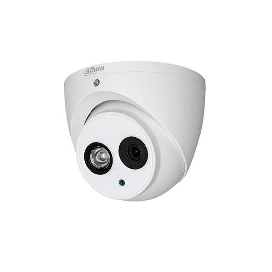 HAC-HDW1100EMP-A-S3-0280 DAHUA CANNON HDCVI DOME CAMERA 1.0MP 2.8MM LENS, AUDIO IN/OUT 1/1, BUILT IN MIC, 50M IR LEDS, METAL, IP66
