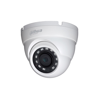 Εικόνα της HAC-HDW1220MP-S3-0280B DAHUA HDCVI CANNON DOME METAL CAMERA 2,0MEGAPIXEL 2.8MM LENS 30M IR LEDS, IP67