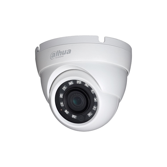 HAC-HDW1220MP-S3-0280 DAHUA HDCVI CANNON DOME METAL CAMERA 2,0MEGAPIXEL 2.8MM LENS 30M IR LEDS, IP67