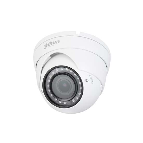 HAC-HDW1200RP-VF-S3 DAHUA HDCVI CANNON DOME VARIFOCAL CAMERA 2.0MP, 2.7-12MM, 30M IR LEDS, OSD MENU, QUADBRID, IP67, METAL