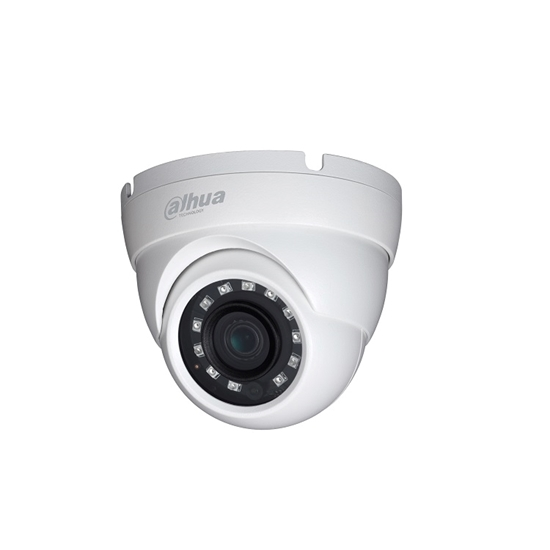 HAC-HDW1400MP-0360 DAHUA HDCVI MISSILE DOME 4.0MP REALTIME  3.6MM LENS, IR30M METAL, IP67