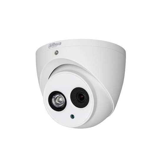HAC-HDW2401EM-0280 DAHUA HDCVI DOME 4.0MP 2.8MM LENS, 50M IR LEDS, TRUE WDR 120dB, IP67, HYBRID