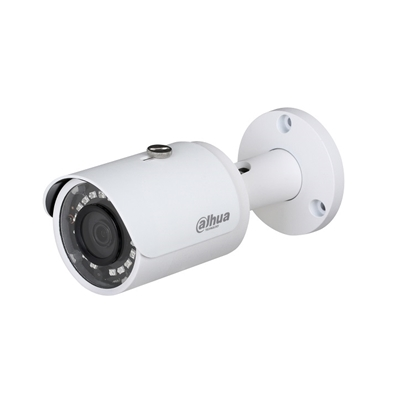 Εικόνα της IPC-HFW1120S-0280 DAHUA IP BULLET CAMERA 1.3MP, 2.8MM, 20M IR LEDS, POE, IP67, METAL