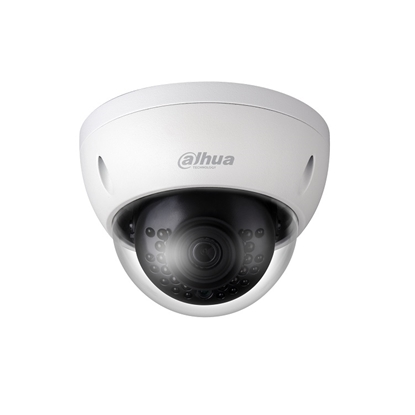 Εικόνα της IPC-HDBW1420EP-0360 DAHUA IP DOME CAMERA 4 MEGAPIXEL 3,6MM LENS 30M IR LEDS IK10, IP67, POE
