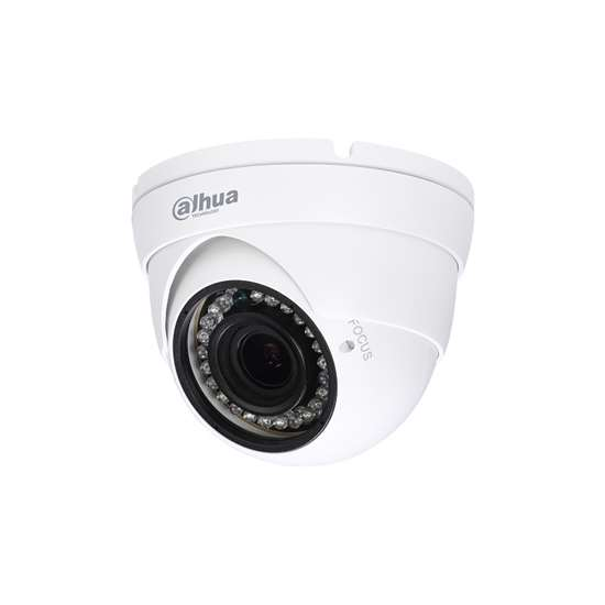 HAC-HDW1100R-VF-S3 DAHUA HDCVI CANNON DOME CAMERA 1.0MP, VARIFOCAL 2,7-12MM, 30M IR LEDS, OSD MENU, QUADBRID, IP67, METAL