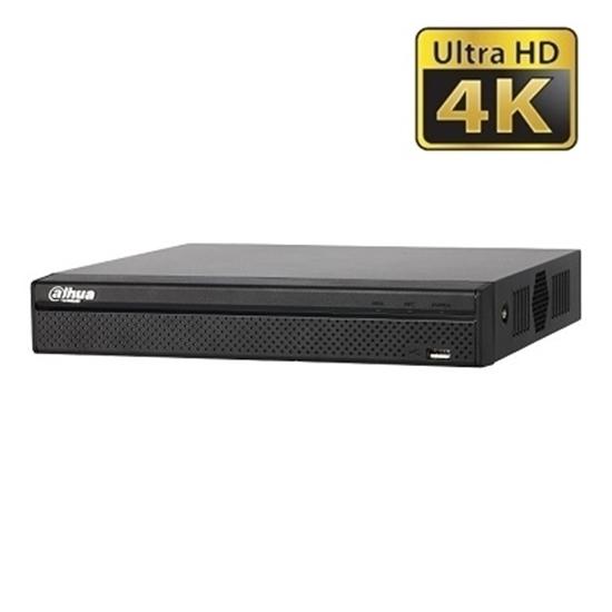 NVR4116HS-8P-4KS2 DAHUA IP 16CH 8MP 8POE H.265 1HDD 6TB