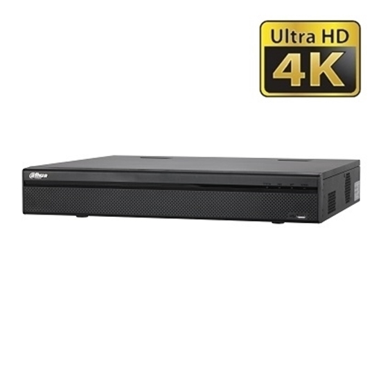 NVR4416-16P-4KS2 DAHUA IP 16CH 8MP 16POE H.265 4HDD 6TB