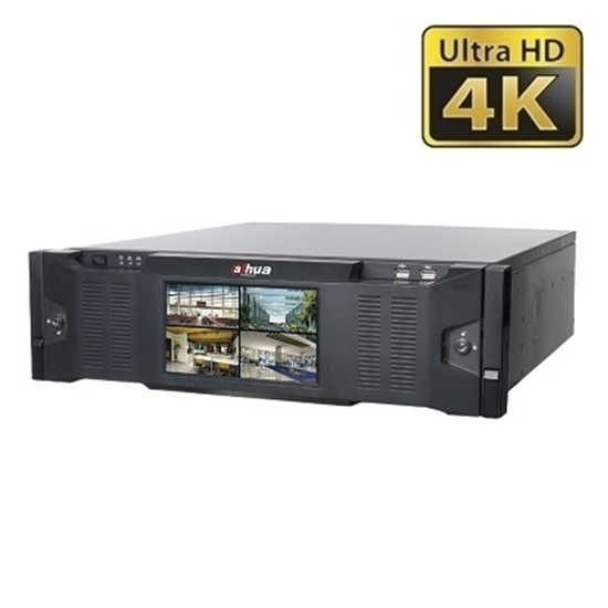 NVR616DR-128-4KS2 DAHUA 128CH NETWORK RECORDER 4K 12.0MP RAID