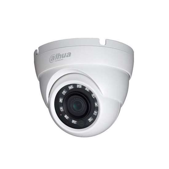 HAC-HDW2401M-0280 DAHUA HDCVI DOME 4.0MP 2.8MM LENS, 30M IR LEDS, TRUE WDR 120dB, IP67, HYBRID