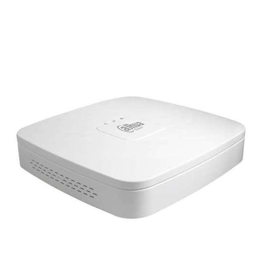NVR2104-P-S2 DAHUA NVR 4CH 4 POE PORTS 6.0MP 80Mbps H264+, 1HDD 6TB