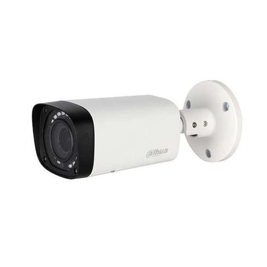 HAC-HFW1100RP-VF-S3 DAHUA HDCVI CANNON QUADBRID BULLET 1.0MP VARIFOCAL 2.7-12MM LENS, 30M IR LEDS, IP67