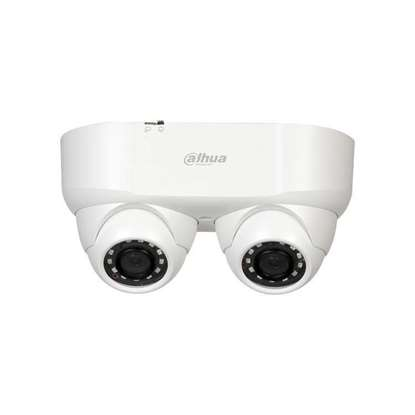 Εικόνα της HAC-HDW2241M-E2-0280 DAHUA HDCVI DOME DUAL LENS 2 X 2MP 2.8MM STARLIGHT,TRUE WDR IR30M IP67