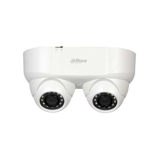 HAC-HDW2241M-E2-0280 DAHUA HDCVI DOME DUAL LENS 2 X 2MP 2.8MM STARLIGHT,TRUE WDR IR30M IP67