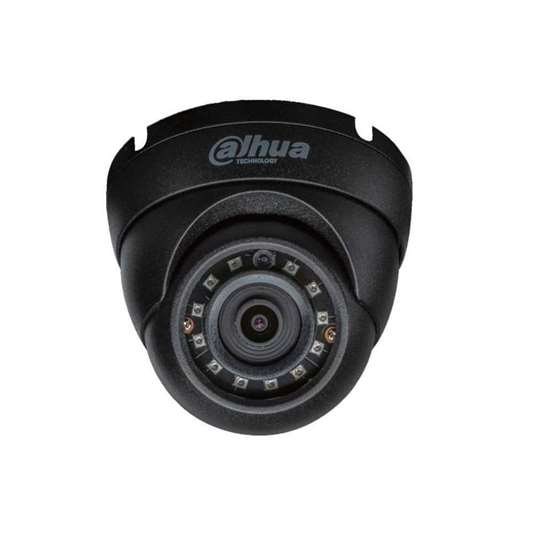 Picture of IPC-HDW1230S-0280 BLACK DAHUA DOME 2MP IR 30M IP67 H265