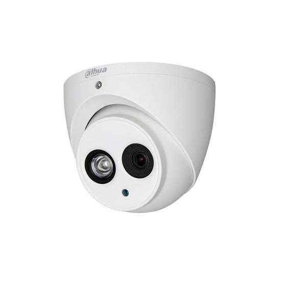 HAC-HDW1500EM-A-0280B DAHUA HDCVI DOME 5.0MP REALTIME  2.8MM LENS, IR50M METAL, IP67 BUILT IN MIC