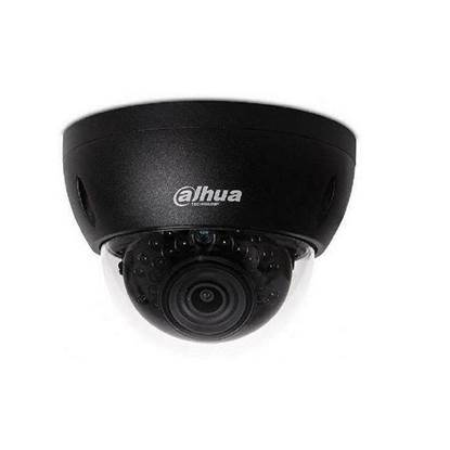 Εικόνα της IPC-HDBW1230E-0280B DAHUA BLACK IP DOME 2.0MP CAM 2.8MM LENS, 30M IR LEDS, IK10, IP67, Η265
