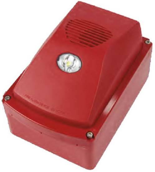 SHALLOW SURFACE BACK BOX RED
