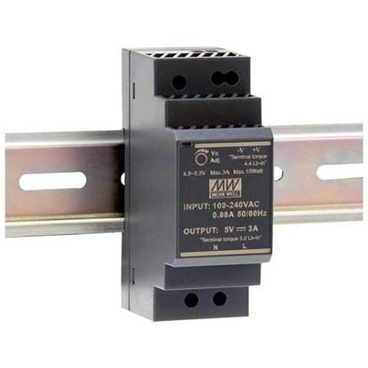 Εικόνα της HDR-30-12 ΤΡΟΦΟΔΟΤΙΚΟ MEAN WELL ΡΑΓΑΣ 12V 2A