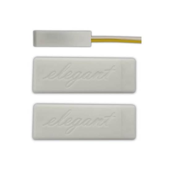 ELEGANT 2019 Plus White Smart 4,7KΩ. NC NOVA.
