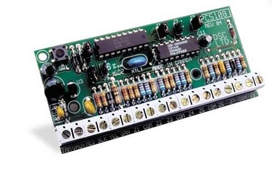 PC5108  -  DSC ΠΛΑΚΕΤΑ ΕΠΕΚΤΑΣΗΣ ΠΙΝΑΚΑ ΣΥΝΑΓΕΡΜΟΥ POWER SERIES - 8 ΖΩΝΕΣ