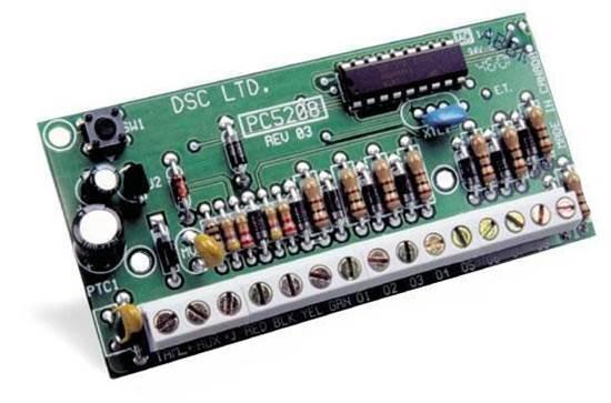 PC5208 - DSC ΠΛΑΚΕΤΑ ΕΠΕΚΤΑΣΗΣ 8 PGM  ΧΑΜΗΛΗΣ ΤΑΣΗΣ - POWER SERIES