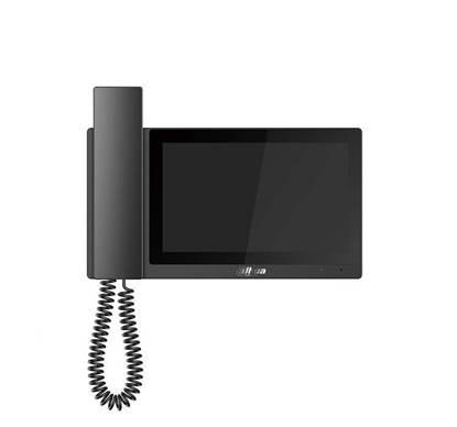 Εικόνα της VTH5221E-H DAHUA  ΜΑΥΡΗ ΘΥΡΟΤΗΛΕΟΡΑΣΗ ΜΕ ΑΚΟΥΣΤΙΚΟ IP 7'' MICRO SD 32GB ALARM IN - 6