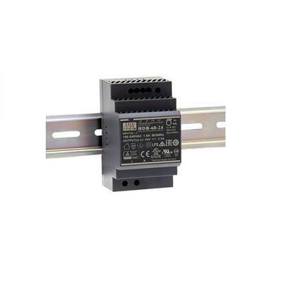 Εικόνα της HDR-60-12 ΤΡΟΦΟΔΟΤΙΚΟ MEAN WELL ΡΑΓΑΣ 12V 4.5A