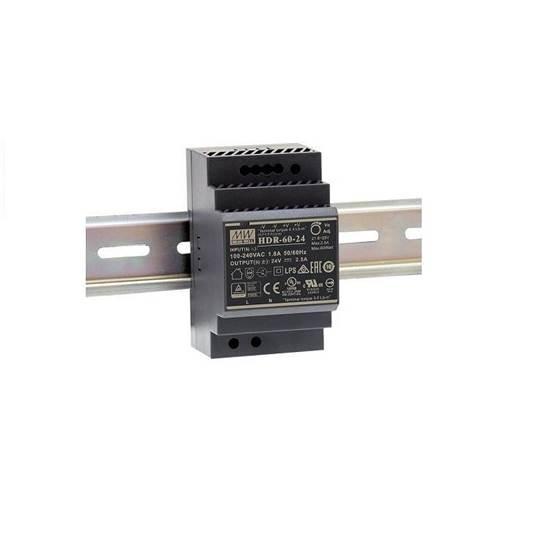 HDR-60-12 ΤΡΟΦΟΔΟΤΙΚΟ MEAN WELL ΡΑΓΑΣ 12V 4.5A