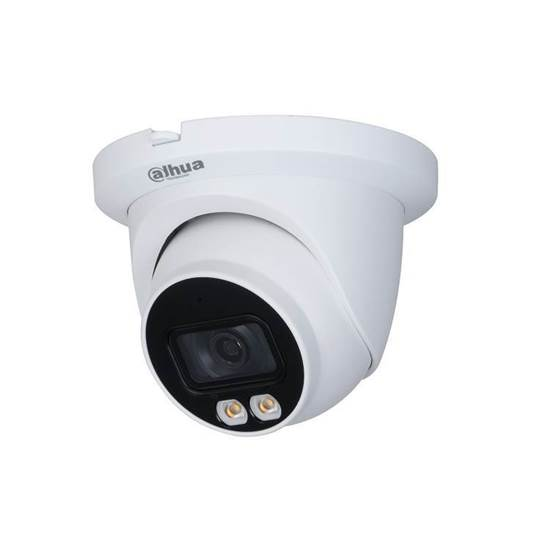 IPC-HDW3549TM-AS-LED-0280B  DAHUA DOME  FULL-COLOR IP 5MP 2.8 LENS IP67 WDR 120DB BUILT IN MIC MICRO SD H265
