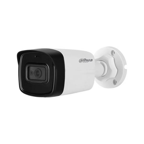 HAC-HFW1800TL-A-0360B DAHUA HDCVI BULLET 8.0MP 3.6MM LENS, IR80M IP67 BUILT IN MIC