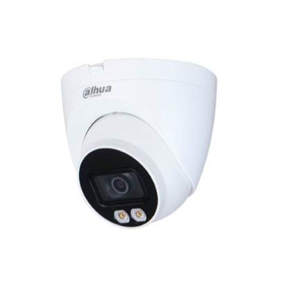Εικόνα της IPC-HDW2239T-AS-LED-0280B-S2 DAHUA DOME FULL-COLOR IP  2.8 LENS IP67 30M LED DISTANCE BUILT IN MIC MICRO SD H265