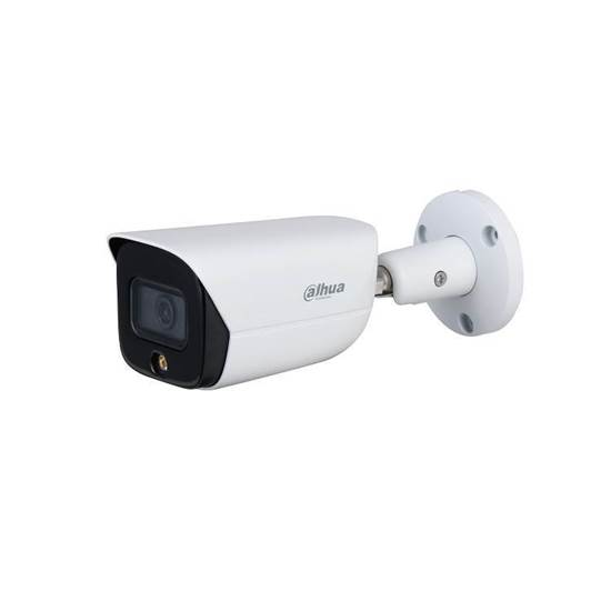 IPC-HFW3549E-AS-LED-0280B DAHUA BULLET FULL-COLOR IP  2.8 LENS IP67  AUDIO IN/OUT 1/1 ALARM IN/OUT 1/1 BUILT IN MIC MICRO SD H265