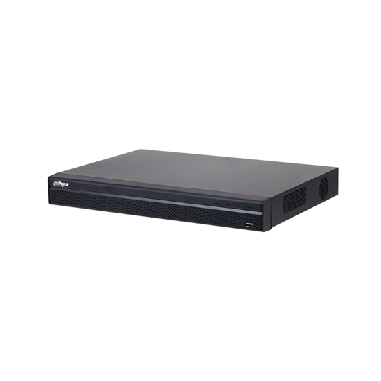 NVR4216-4KS2/L DAHUA NVR 16CH (NO POE), 4K 8.0MP, 160MBPS, H.265, 2HDD 20TB, AUDIO IN/OUT 1/1, ALARM IN/OUT 4/2