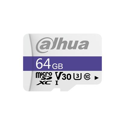 Εικόνα της TF-C100/64GB DAHUA MICRO SD C10/U3/V30 READ SPEED 95MB/S WRITE SPEED 38MB/S